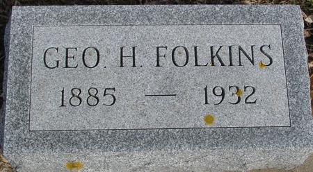 FOLKINS, GEORGE H. - Ida County, Iowa | GEORGE H. FOLKINS