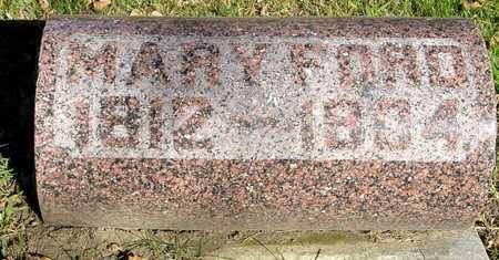 FORD, MARY - Ida County, Iowa   MARY FORD