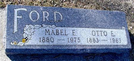 FORD, OTTO & MABEL - Ida County, Iowa | OTTO & MABEL FORD