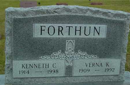 FORTHUN, KENNETH & VERNA K. - Ida County, Iowa | KENNETH & VERNA K. FORTHUN