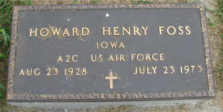FOSS, HOWARD HENRY - Ida County, Iowa   HOWARD HENRY FOSS