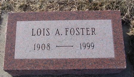 FOSTER, LOIS A. - Ida County, Iowa | LOIS A. FOSTER
