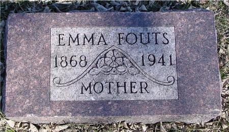FOUTS, EMMA - Ida County, Iowa | EMMA FOUTS