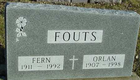 FOUTS, ORLAN & FERN - Ida County, Iowa | ORLAN & FERN FOUTS