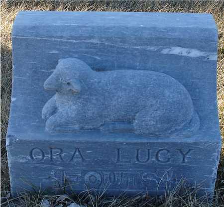 FOUTS, ORA LUCY - Ida County, Iowa   ORA LUCY FOUTS