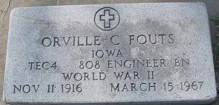 FOUTS, ORVILLE - Ida County, Iowa | ORVILLE FOUTS