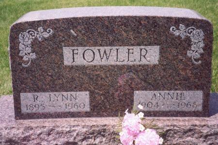 FOWLER, R. LYNN - Ida County, Iowa | R. LYNN FOWLER