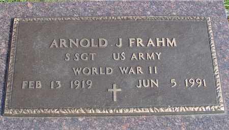 FRAHM, ARNOLD J. - Ida County, Iowa | ARNOLD J. FRAHM