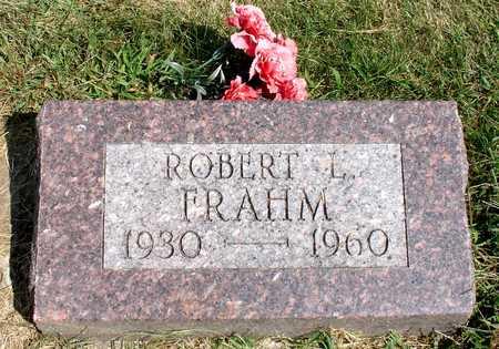 FRAHM, ROBERT L. - Ida County, Iowa   ROBERT L. FRAHM