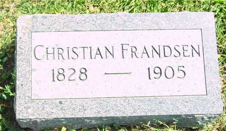 FRANDSEN, CHRISTIAN - Ida County, Iowa | CHRISTIAN FRANDSEN