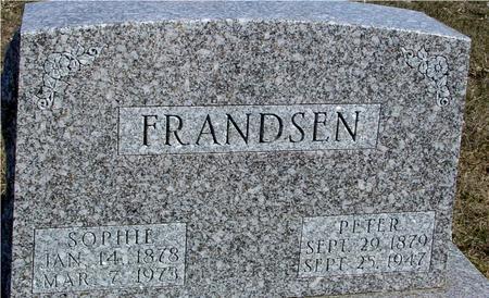 FRANDSEN, PETER & SOPHIE - Ida County, Iowa | PETER & SOPHIE FRANDSEN