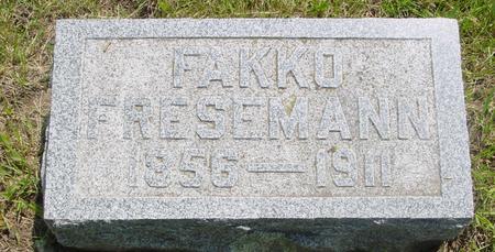 FRESEMANN, FAKKO - Ida County, Iowa | FAKKO FRESEMANN