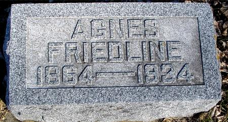 FRIEDLINE, AGNES - Ida County, Iowa | AGNES FRIEDLINE