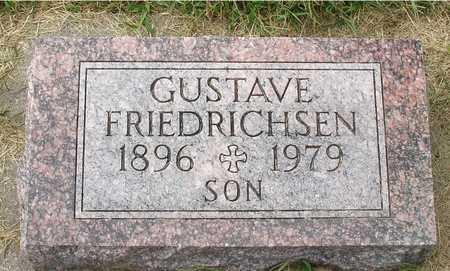 FRIEDRICHSEN, GUSTAVE - Ida County, Iowa   GUSTAVE FRIEDRICHSEN