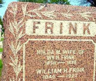 FRINK, HULDA M. - Ida County, Iowa | HULDA M. FRINK
