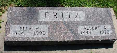 FRITZ, ALBERT & ELLA - Ida County, Iowa | ALBERT & ELLA FRITZ