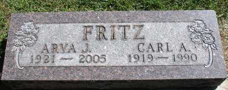 FRITZ, CARL A. & ARVA J. - Ida County, Iowa | CARL A. & ARVA J. FRITZ
