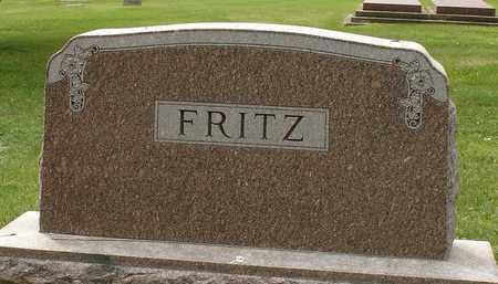 FRITZ, FAMILY MARKER - Ida County, Iowa | FAMILY MARKER FRITZ