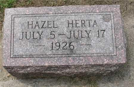 FRITZ, HAZEL HERTA - Ida County, Iowa | HAZEL HERTA FRITZ