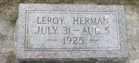 FRITZ, LEROY HERMAN - Ida County, Iowa | LEROY HERMAN FRITZ