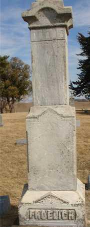 FROELICH, FAMILY MARKER - Ida County, Iowa   FAMILY MARKER FROELICH