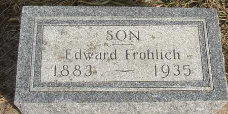 FROHLICH, EDWARD - Ida County, Iowa | EDWARD FROHLICH