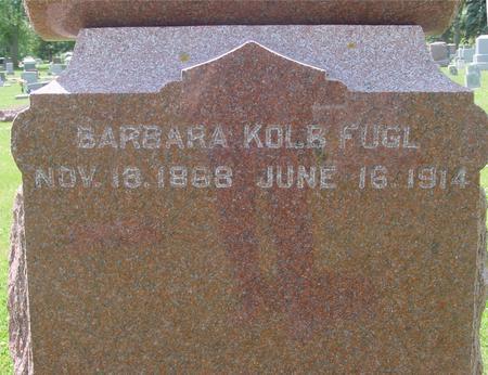 FUGL, BARBARA - Ida County, Iowa | BARBARA FUGL