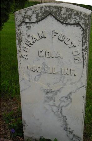 FULTON, ABRAM - Ida County, Iowa | ABRAM FULTON