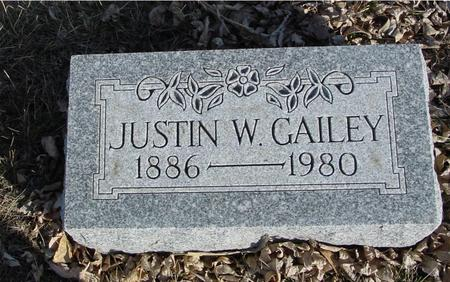 GAILEY, JUSTIN W. - Ida County, Iowa | JUSTIN W. GAILEY