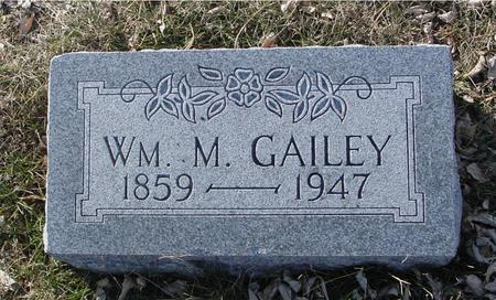 GAILEY, WILLIAM M. - Ida County, Iowa | WILLIAM M. GAILEY