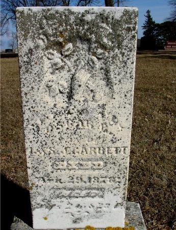 GARRETT, OSCAR - Ida County, Iowa   OSCAR GARRETT