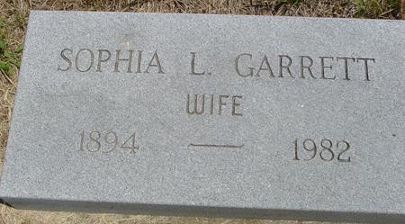 GARRETT, SOPHIA - Ida County, Iowa | SOPHIA GARRETT
