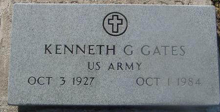 GATES, KENNETH G. - Ida County, Iowa   KENNETH G. GATES