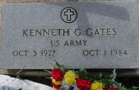 GATES, KENNETH G. - Ida County, Iowa | KENNETH G. GATES