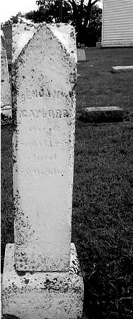 GAYLORD, BENJAMIN - Ida County, Iowa | BENJAMIN GAYLORD