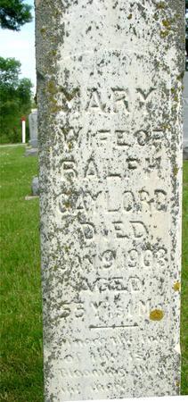 GAYLORD, MARY - Ida County, Iowa | MARY GAYLORD