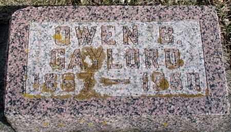 GAYLORD, OWEN B. - Ida County, Iowa | OWEN B. GAYLORD