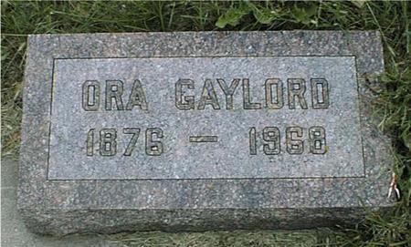 GAYLORD, ORA B. - Ida County, Iowa | ORA B. GAYLORD