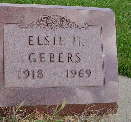 GEBERS, ELSIE H. - Ida County, Iowa | ELSIE H. GEBERS