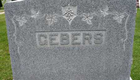GEBERS, FAMILY MARKER - Ida County, Iowa | FAMILY MARKER GEBERS