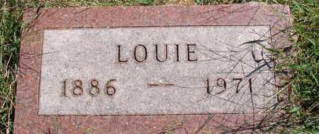 GEBERS, LOUIE - Ida County, Iowa   LOUIE GEBERS