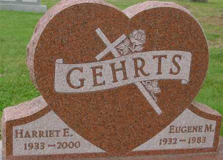 GEHRTS, EUGENE & HARRIET - Ida County, Iowa   EUGENE & HARRIET GEHRTS