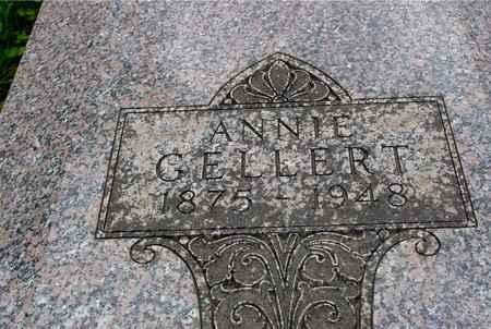 GELLERT, ANNIE - Ida County, Iowa | ANNIE GELLERT