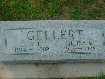 GELLERT, HENRY W. &  LILY - Ida County, Iowa | HENRY W. &  LILY GELLERT