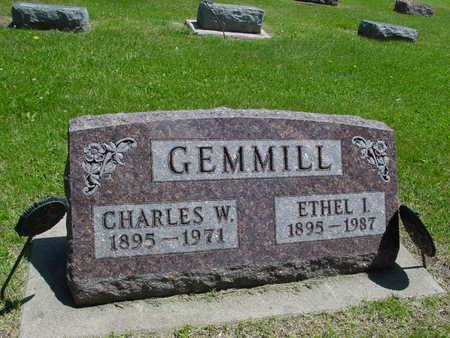 GEMMILL, CHARLES W. & ETHEL - Ida County, Iowa | CHARLES W. & ETHEL GEMMILL
