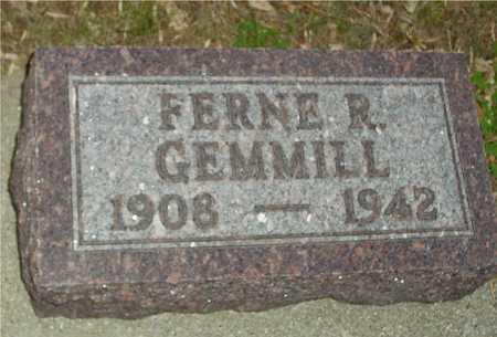 GEMMILL, FERNE R. - Ida County, Iowa | FERNE R. GEMMILL