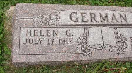 GERMAN, HELEN G. - Ida County, Iowa | HELEN G. GERMAN