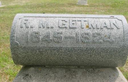 GETMAN, R. M. - Ida County, Iowa | R. M. GETMAN