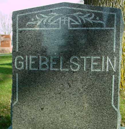 GIEBELSTEIN, FAMILY MARKER - Ida County, Iowa   FAMILY MARKER GIEBELSTEIN