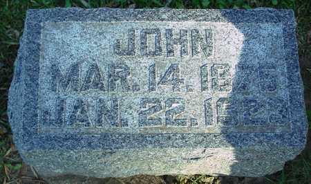 GIEBELSTEIN, JOHN - Ida County, Iowa | JOHN GIEBELSTEIN
